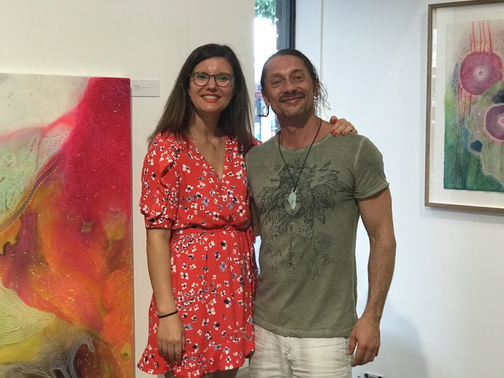 Carla Filipe and Frank Boffa The Art Gallery 2018