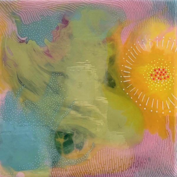 Carla Filipe Australian Artist Colour Song – the future is brigh, baby 2018