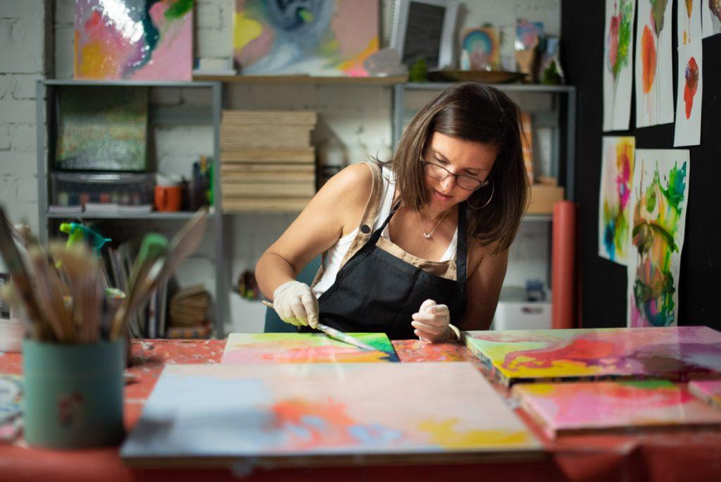 Carla Filipe Australian Artist – work in progress 2019