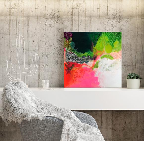Carla Filipe Australian Artist Heavenly Delights Paradise found 2020
