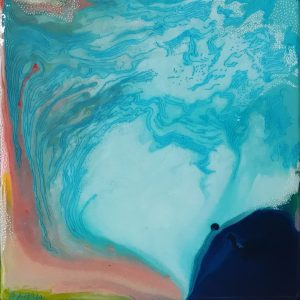 Carla Filipe Australian Artist Heavenly Delight Swimming in your blueness 2020