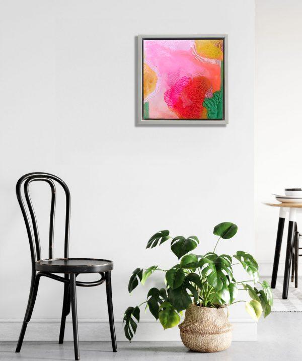 Carla Filipe Australian Artist Heavenly Delights Garden of my heart 2020