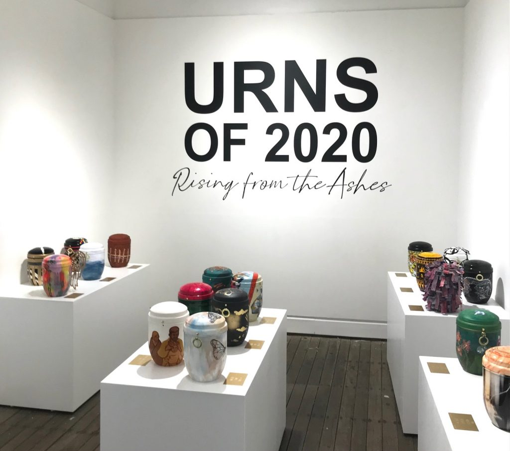 Urns of 2020 exhibition at Gaffa gallery